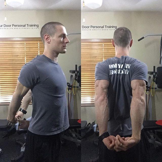 Reverse Shoulder Stretch