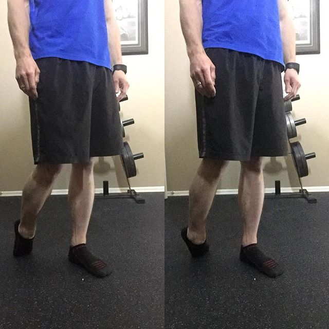 Double Tibialis Anterior Stretch