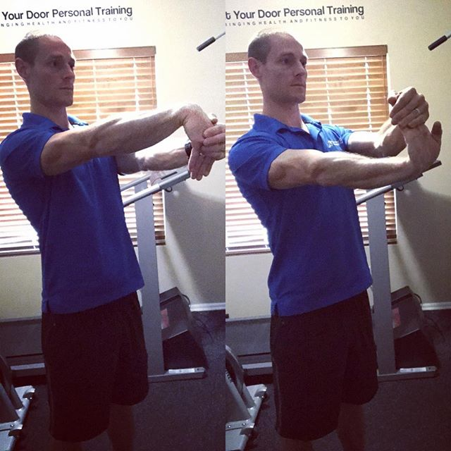 Wrist Extension And Flexion Stretch