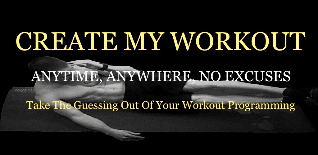 Create My Workout eBook