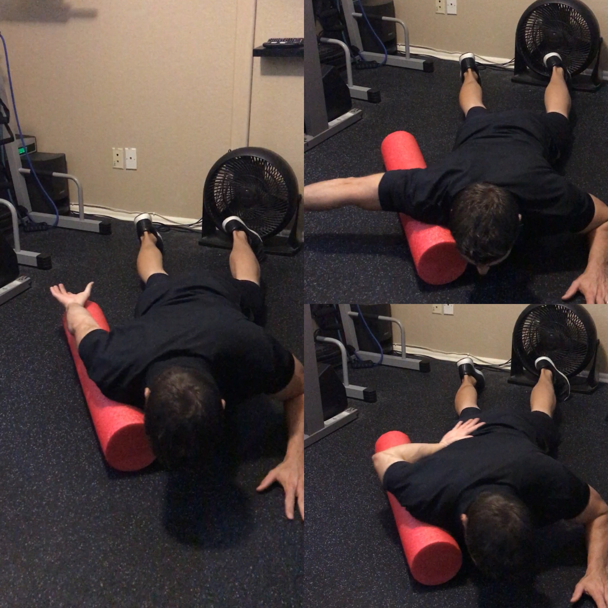 Foam Roll Anterior Deltoid