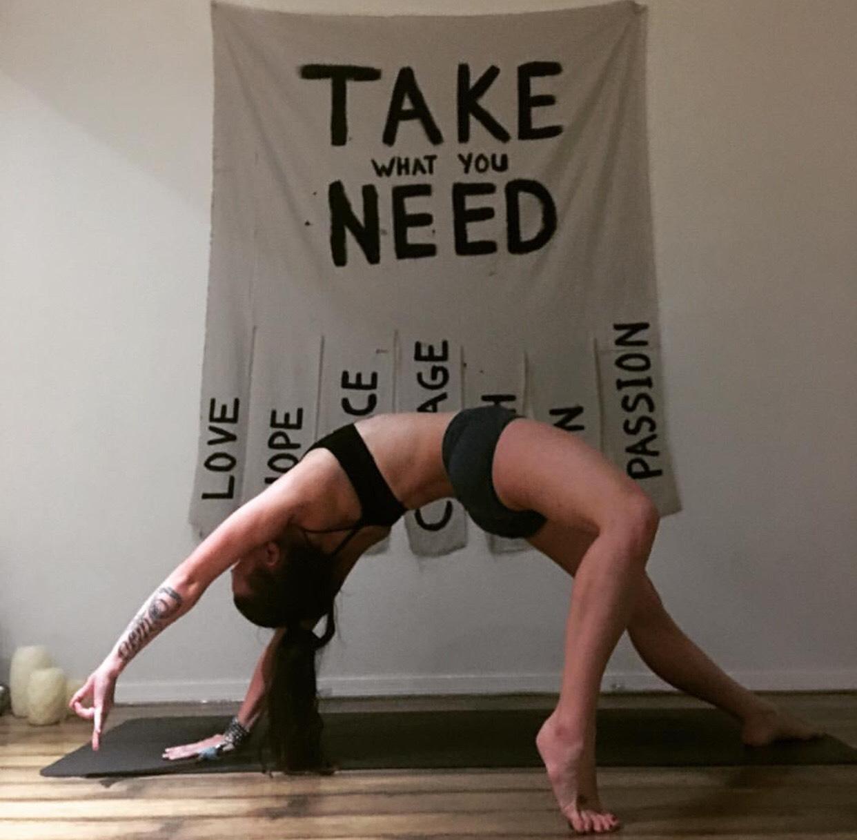 Kelsey Jackson Yoga Profile 1